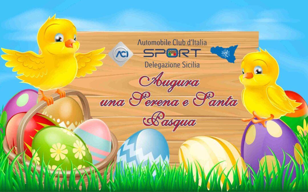 Buona Pasqua dalla Delegazione ACI Sport Sicilia