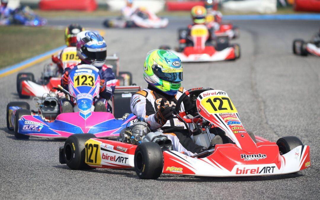 Debutto con successo nel Tricolore karting  Under 20 per Maragliano a Jesolo
