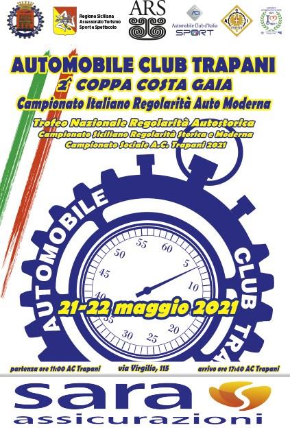 Il 21 e 22 maggio la Regolarità in provincia di Trapani