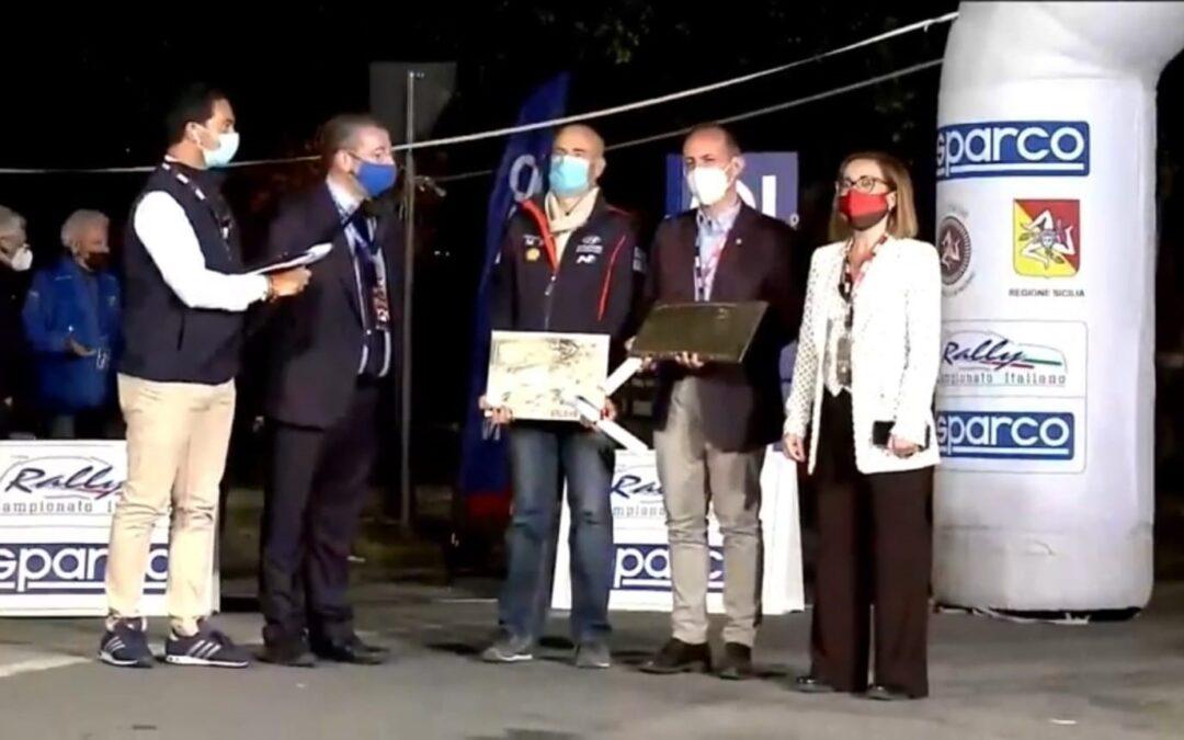 La Sicilia premia Adamo Team Principal Hyundai Motorsport