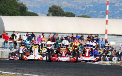 I kartisti Siciliani alla Conca per la sesta prova del Tricolore