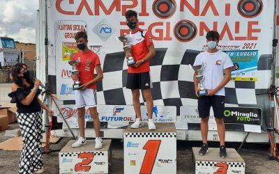 Migliore vince nel Regionale Karting a Villarosa.
