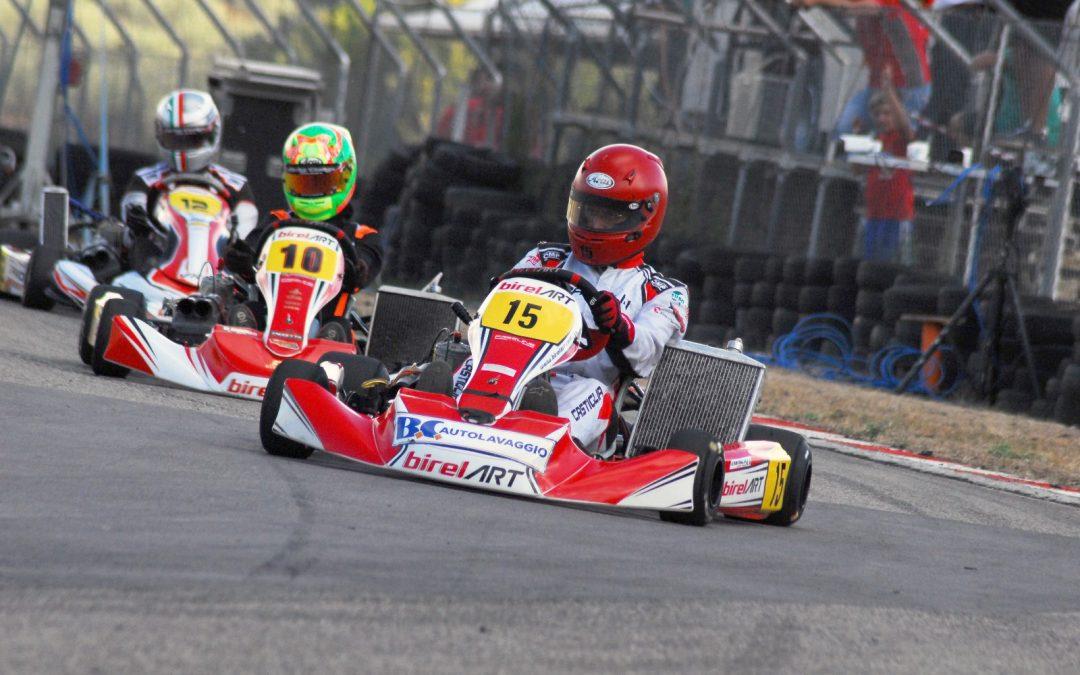 Castiglia vince nel Karting a Villarosa