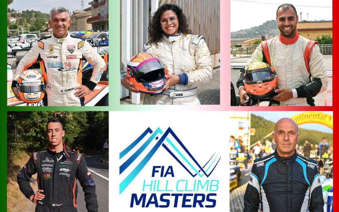 Sicilia con 5 piloti nella nazionale italiana al FIA Hill Climb Masters