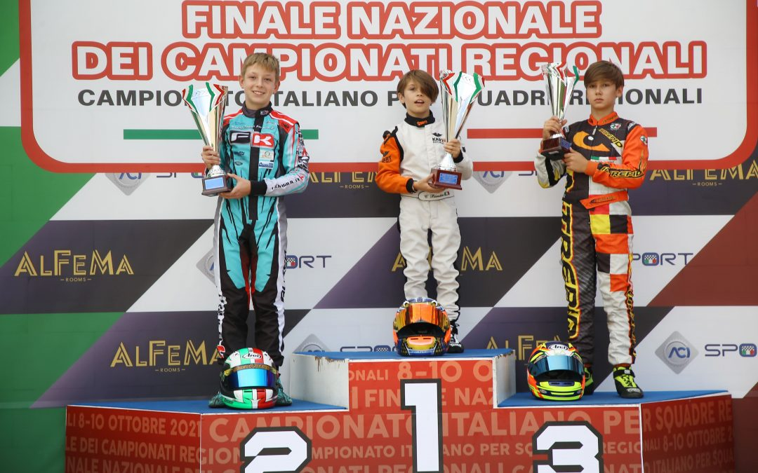 Il nisseno Blandino vince nel karting la 60 Mini Internazionale a Ugento